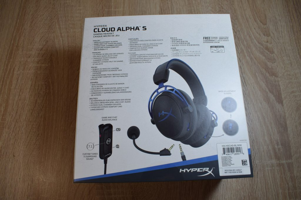 hyperx cloud alpha s game it