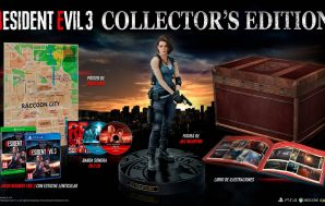 Resident Evil 3 anuncia su genial Edición Coleccionista