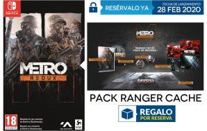 El Pack Ranger Cache de regalo por la reserva en…