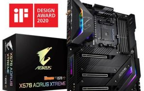 GIGABYTE X570 AORUS XTREME gana el iF Design Award 2020