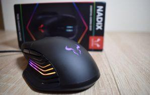 Riotoro Nadix. Review y demostración de iluminación del ratón gaming