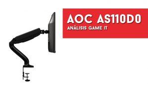 AOC AS110D0, videoreview del último soporte de AOC