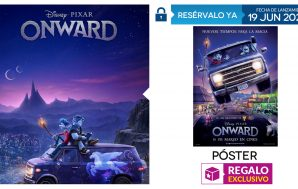 Un póster exclusivo por la reserva en GAME de Onward…