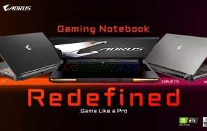 GIGABYTE presenta los portátiles gaming AORUS y para creadores AERO