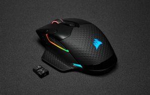 CORSAIR lanza el nuevo ratón inalámbrico DARK CORE RGB PRO
