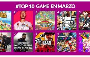 Desvelada la lista de lo más vendido en GAME durante…