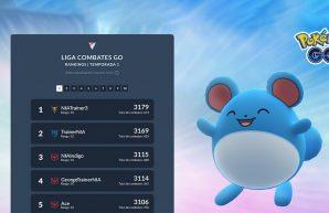 Pokémon GO Tabla Liga Combates