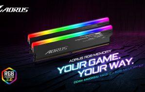 AORUS RGB Memory 4400MHz, el nuevo kit de memoria de…
