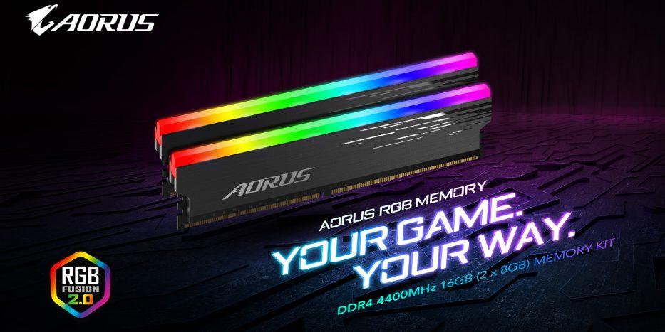 Aorus RGB Memory 4400 MHz