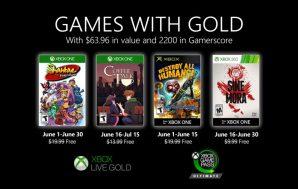 Desvelados los Games with Gold del próximo mes de junio