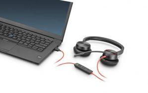 Poly Blackwire 8225, trabaja sin distracciones y con audio excepcional