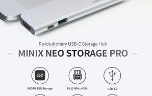 Minix lanza el Neo Storage Pro
