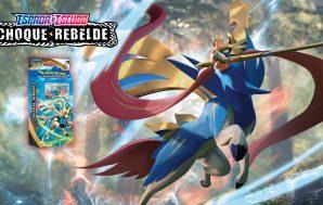 Zacian Baraja Temática JCC Pokémon Espada y Escudo Choque Rebelde.…