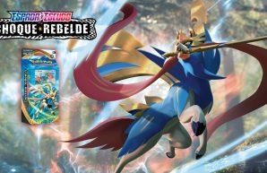 Zacian Baraja Temática JCC Pokémon Espada y Escudo Choque Rebelde