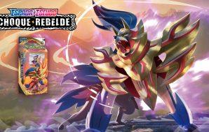 Zamazenta Baraja Temática JCC Pokémon Espada y Escudo Choque Rebelde.…