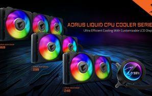 La serie Aorus Liquid Cooler puede con los procesadores Intel…