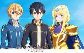 Sword Art Online Alicization Lycoris ya está disponible en PS4,…