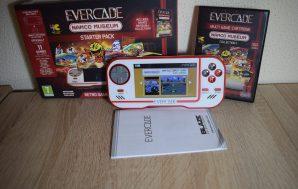 Evercade. Unboxing y análisis de la consola portátil retro