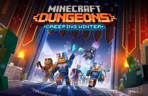Invierno espeluznante Minecraft Dungeons