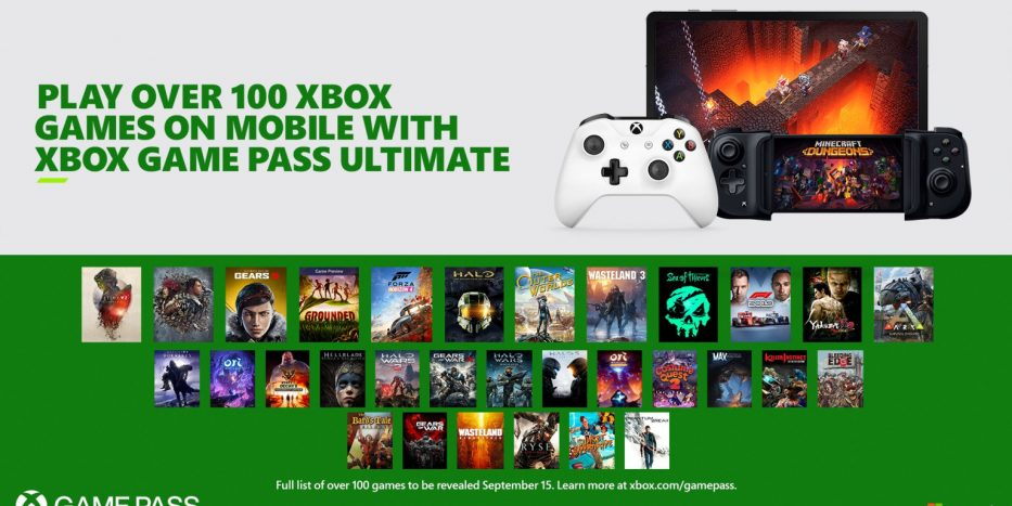 Xbox Game Pass Project xCloud