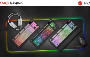 Mars Gaming presenta su nuevo teclado de membrana: MKAX