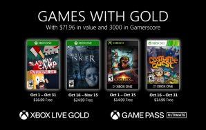 Confirmados los Games with Gold del mes de octubre