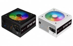 CORSAIR presenta las fuentes de alimentación CX-F RGB Series