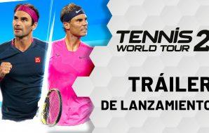 Tennis World Tour 2 muestra su tráiler de lanzamiento