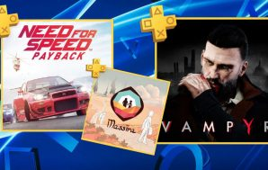 Need for Speed Payback y Vampyr son los juegos de…