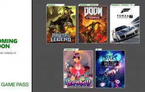 Confirmados los primeros títulos que llegarán a Xbox Game Pass…