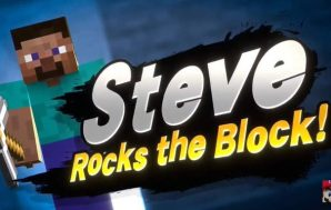 Steve y Alex, de Minecraft, se incorporarán a Super Smash…