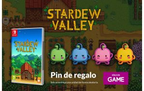 Un pin exclusivo de regalo por la reserva en GAME…