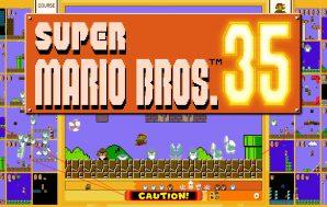 Super Mario Bros. 35 ya está disponible con la suscripción…