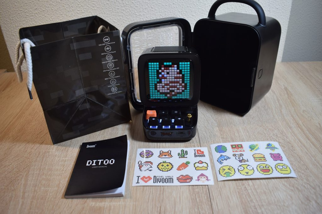 ditto divoom game it