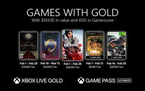 Confirmados los juegos de febrero de Games with gold