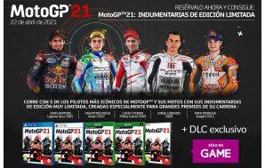 Un DLC de regalo por la reserva de MotoGP 21…