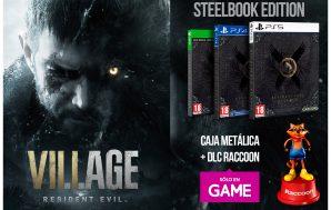 La Edición Steelbook de Resident Evil Village será exclusiva de…