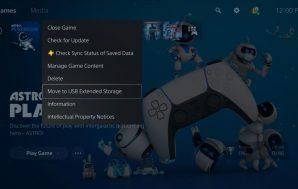 PlayStation 5 recibirá mañana su primera gran actualización