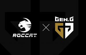 Roccat y Gen.G firman un nuevo acuerdo como proveedor oficial