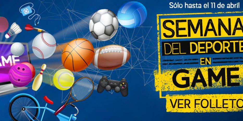 Semana del Deporte en GAME