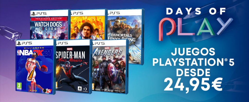Days of Play PS5