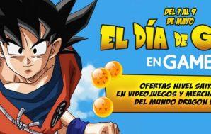 El Goku Day llega a las tiendas GAME con ofertas…
