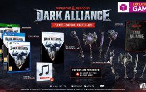 La Steelbook Edition de Dungeons & Dragons: Dark Alliance será…
