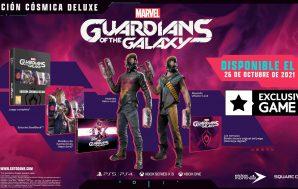 La Edición Cósmica Deluxe de Marvel's Guardians of the Galaxy…