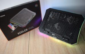 Krom Kooler. Análisis de la base refrigeradora para portátiles