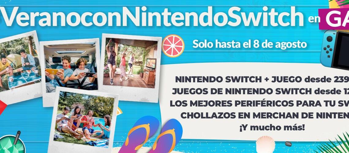 Ofertas de Verano con Nintendo Switch en GAME