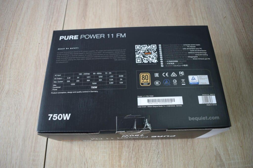 caja de la pure power 11 fm