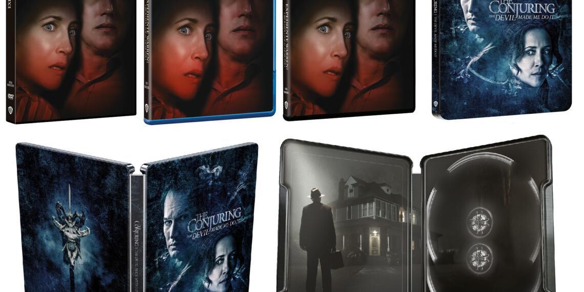 bluray, dvd y steelbook de expediente warren obligado por el demonio