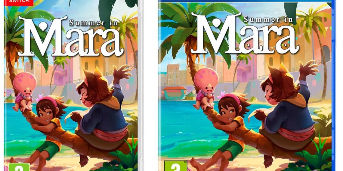 portadas de los juegos fisicos de summer in mara