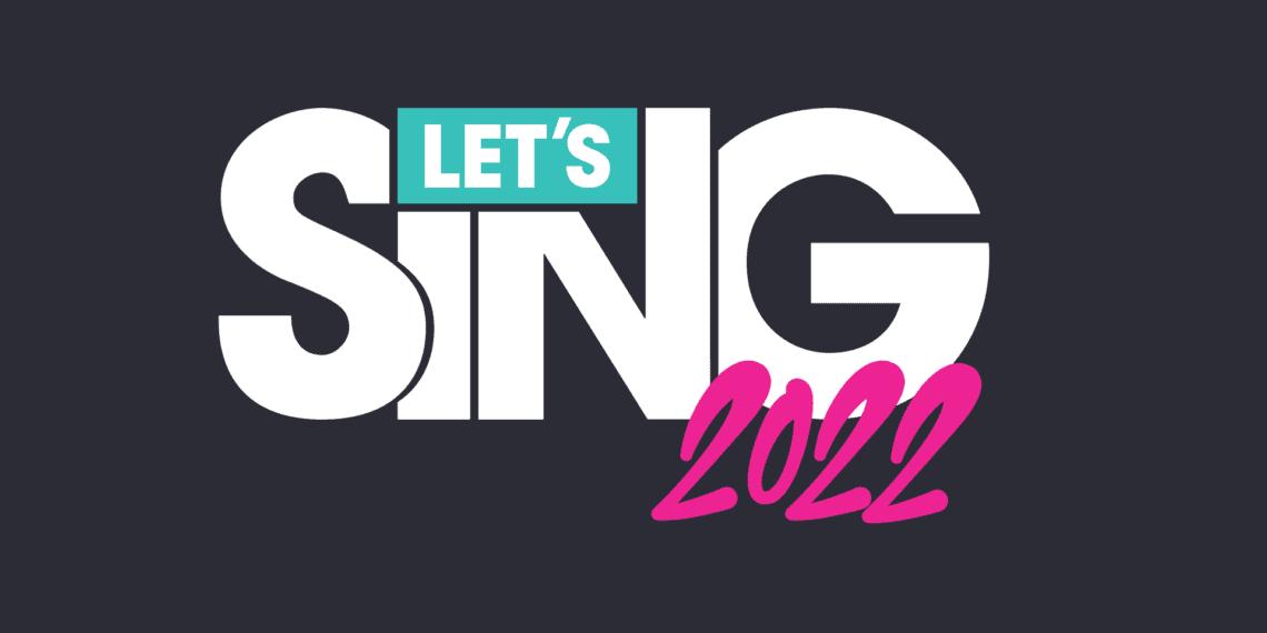 Let's Sing 2022 Incluye Canciones Españolas